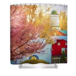 Sunshine In Springtime Shower Curtain