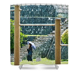 Sunshine Stroll Shower Curtain