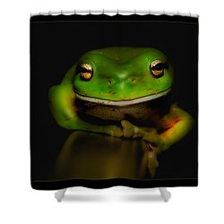 Super Frog 01 Shower Curtain