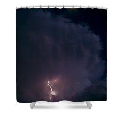 Supercell Moon Shower Curtain
