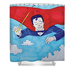 Superconductor Shower Curtain