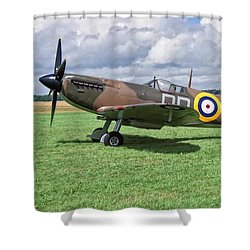 Supermarine Spitifire 1a Shower Curtain