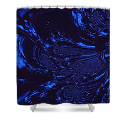Supernatural Water Element Shower Curtain
