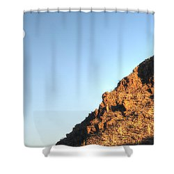 Superstition Mountain Shower Curtain
