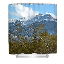 Superstition New Years Day Shower Curtain
