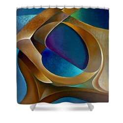 Support Shower Curtain by Claudia Goodell