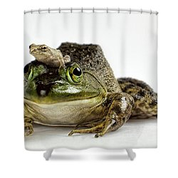 Support Your Friends Shower Curtain