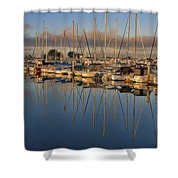 Shower Curtain featuring the photograph Sur La Mer by Gary Holmes
