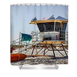 Surf Rescue Shower Curtain