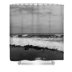 Surf Rolling In  Shower Curtain