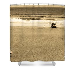 Morning Surf Shower Curtain