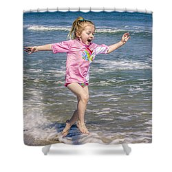 Shower Curtain featuring the photograph Surf's Up by Rob Sellers