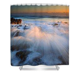 Surge Shower Curtain by Mike  Dawson