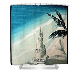Shower Curtain featuring the painting Surprise Blessing by Dianna Lewis