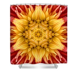 Surreal Flower No.4 Shower Curtain