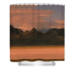 Surreal Mountains In Utah #4 Shower Curtain