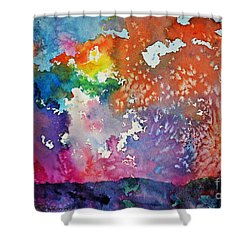 Surreal Sunset Shower Curtain