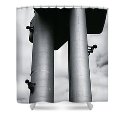 Surrealist Art Shower Curtain