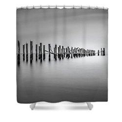 Surrender Shower Curtain