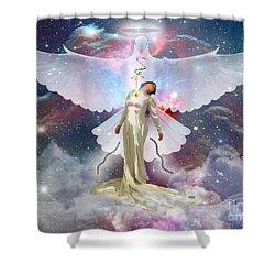 Surrendered Bride Shower Curtain