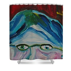 Surrounded By Seven Cats Shower Curtain