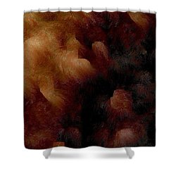 Survival Shower Curtain by James Barnes