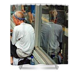 Surviving Shower Curtain by Debbi Granruth