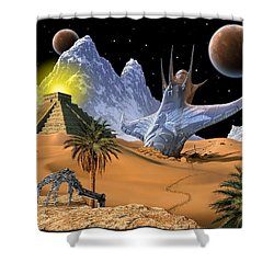 Survivor Shower Curtain by Scott Ross