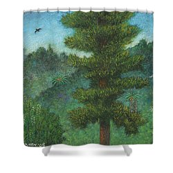 Susan's View Shower Curtain