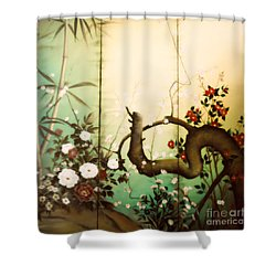 Sunshine In The Garden Shower Curtain