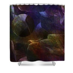 Suspended Shower Curtain by Jack Zulli