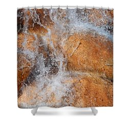 Suspended Motion Shower Curtain