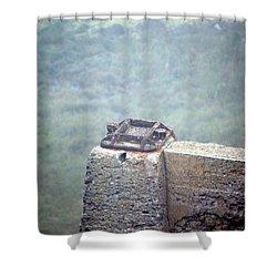 Sutro Bath Foundation Shower Curtain by Dean Ferreira