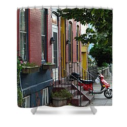 Swain Street Shower Curtain
