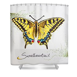 Swallowtail - Butterfly Shower Curtain
