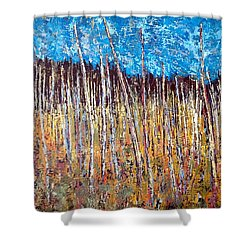 Swamp - Chamcook Nb Shower Curtain