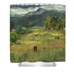 Swan Valley Residents Shower Curtain