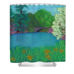 Sweet Auburn Shower Curtain