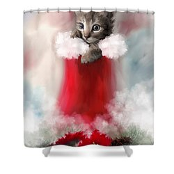 Sweet Christmas Shower Curtain