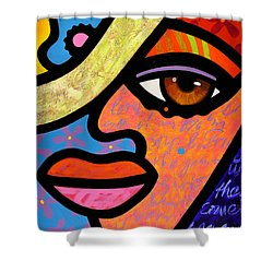 Sweet City Woman Shower Curtain
