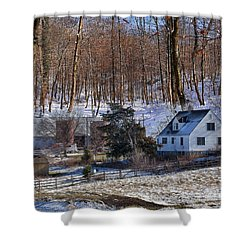 Shower Curtain featuring the photograph Sweet Country Charm by Liane Wright