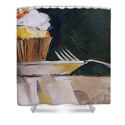 Sweet Cupcake Shower Curtain