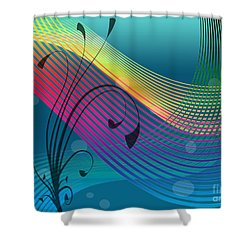 Sweet Dreams Abstract Shower Curtain