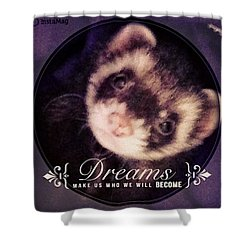 Sweet Dreams Little One Shower Curtain