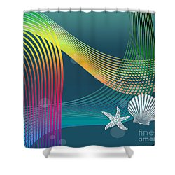 Sweet Dreams2 Abstract Shower Curtain
