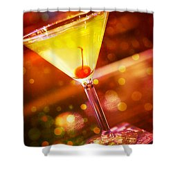 Sweet Martini  Shower Curtain