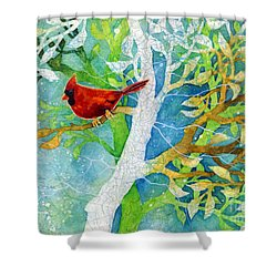 Sweet Memories II Shower Curtain by Hailey E Herrera