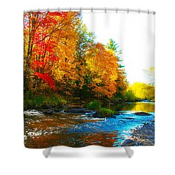 Sweet Serenity Shower Curtain by Tiffany Erdman