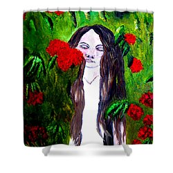 Sweet Smell Of  Flowers Shower Curtain