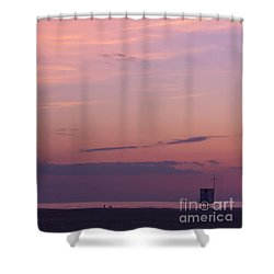 Sweet Sunset Shower Curtain by Angela Doelling AD DESIGN Photo and PhotoArt